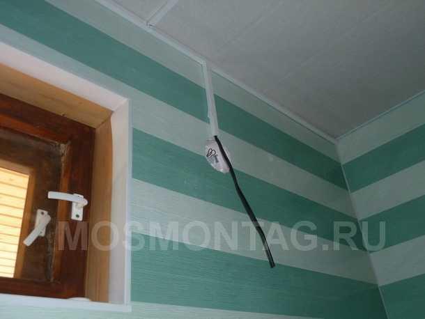 частное фото в ванной