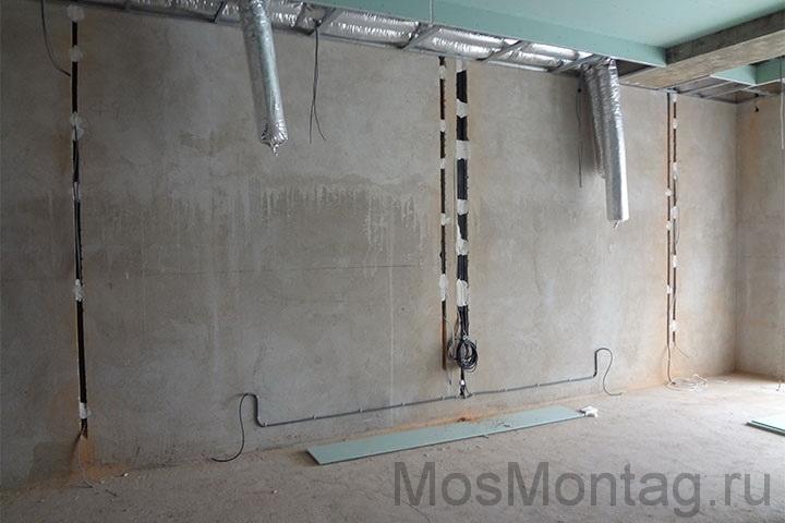 Замена проводки в квартире стоимость мосэнерго