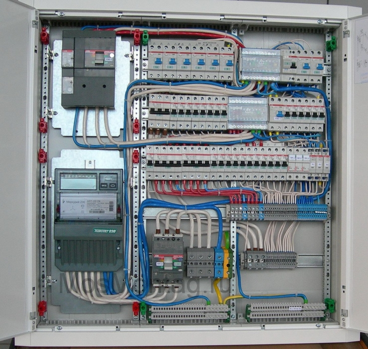 план производства работ по электромонтажу образец