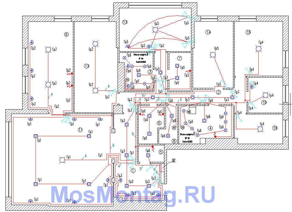 Разводка электрики в квартире своими руками фото 831